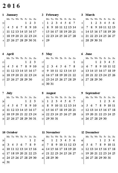 Numbered Week calendar with numbered weeks 187 calendar template 2018