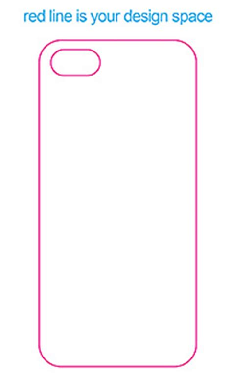 Iphone 5s Template by Design Template Dojin Anime Goods Smallquantity