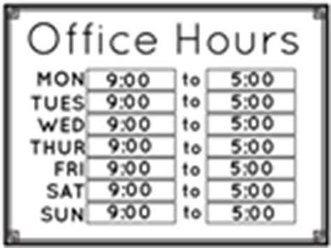store hours sign template free store hours signs templates signs