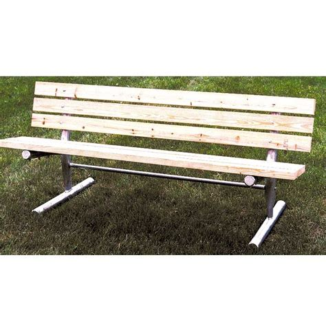 portable benches pine treated slat portable bench