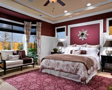 Burgundy Bedroom Decorating Ideas by Burgundy Bedroom Design Ideas Remodels Photos Houzz