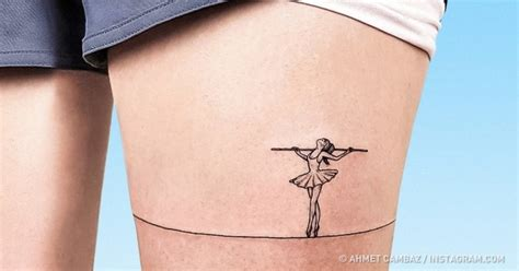 leg ballerina tattoo 3d tattoos