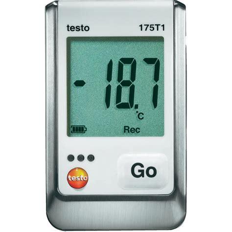 testo mio testo 175 t1 temperatur datenlogger messschreiber 1 mio