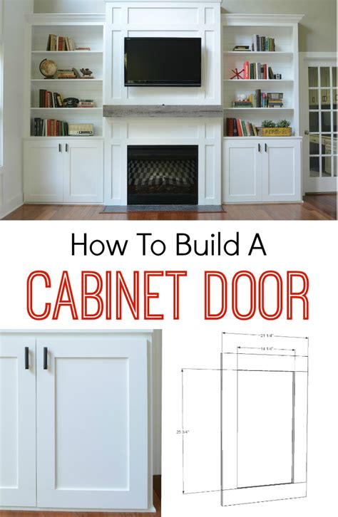 How To Build Cabinet Door How To Build A Cabinet Door Decor And The