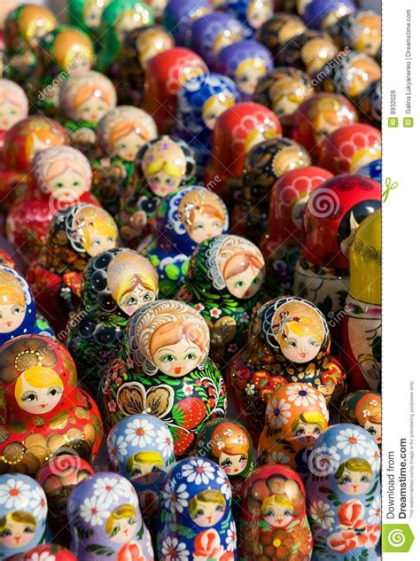 traditional russian souvenirs royalty free stock photos - Traditional Russian Gifts