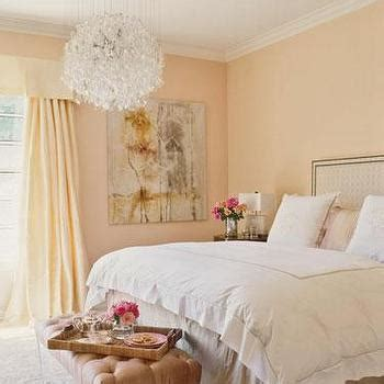 peach bedroom walls peach pink paint color design ideas