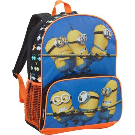 despicable me 16 quot backpack walmart