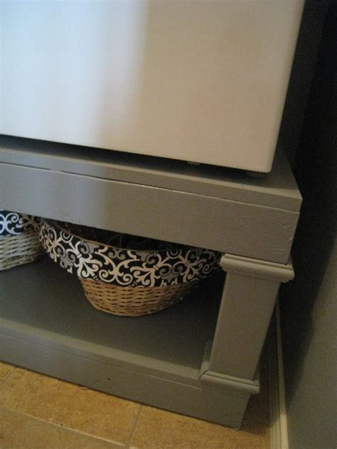 Washer And Dryer Pedestal Reveal Shanty 2 Chic | washer and dryer pedestal reveal shanty 2 chic