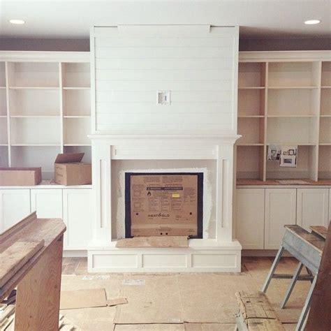 Shiplap Wall Fireplace Fireplace Progress And More Shiplap