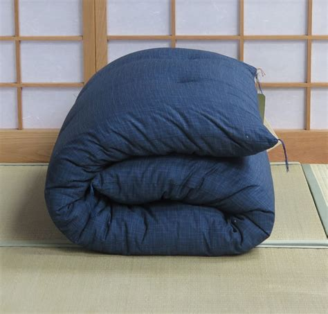 japanese futon uk single dark blue with organic cotton filling japanese futon