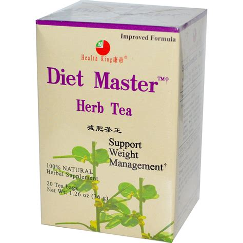 Health King Detoxer Herb Tea Reviews by Iherb Customer Reviews Health King Diet Master