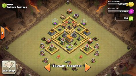 clash of clans war base 6 town hall level 6 war base www pixshark com images