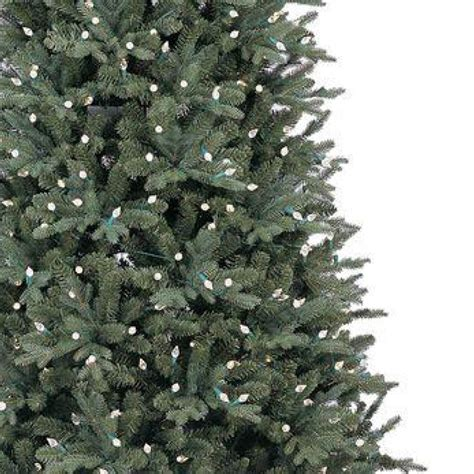 ge 9 ft pre lit led energy smart spruce artificial christmas tree ge 9 ft led indoor just cut deluxe aspen fir artificial tree with color choice lights