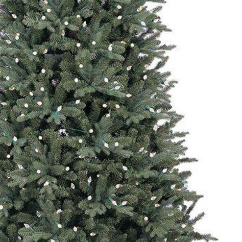 aspen fir ge 9 ft led indoor just cut deluxe aspen fir artificial tree with color choice lights
