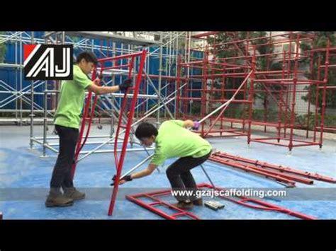 Kasur Lantai Mahkota cara pasang scaffolding steger by mitrascaffolding