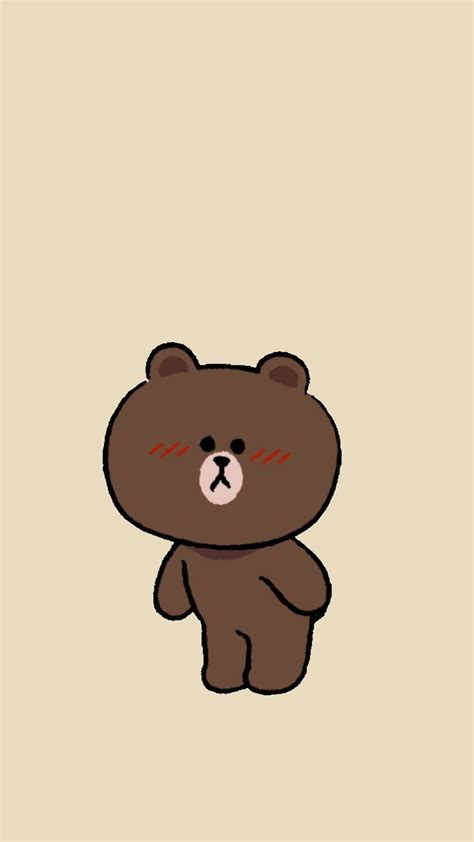 Line Friends Brown 487 best line images on background images