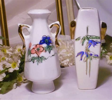 floreros antiguos de porcelana floreros violeteros de porcelana antiguos precio por los 6