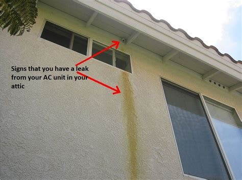 air conditioner leaking water in house home air home air conditioning unit leaking water
