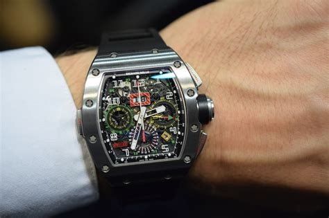 Replica Richard Mille Rm011 Fm Shappire richard mille rm 11 02 flyback chronograph dual time zone