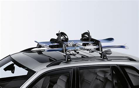 Car Ski Racks by Bmw Ski Snowboard Car Rack Holder Roof Bars Lockable