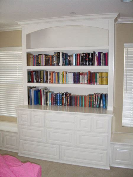 White Built In Cabinets With Bookcases C L Design Built In White Bookcases