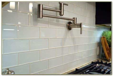 glass subway tiles for kitchen backsplash 1 inch clear glass tile squares tiles home decorating