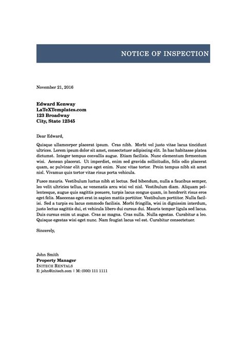 Formal Letter Of Template Formal Letter Formal Letter Template