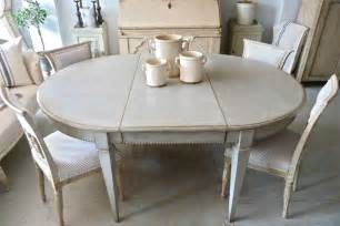 Bench Style Dining Table Uk Antique Swedish Gustavian Style Dining Table In Furniture