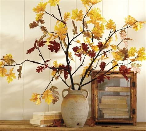 fall branches for decorations fall d 233 cor with branches 37 awesome ideas digsdigs