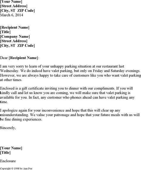 Customer Service Letter Of Apology Sle Apology Letter For Bad Customer Service Compudocs Us