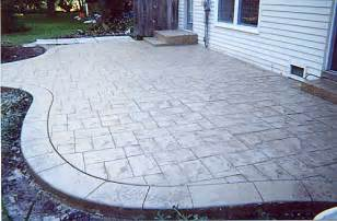 Back In Your Own Backyard Patio Samples Of Actual Patios Done By Concrete In Designs