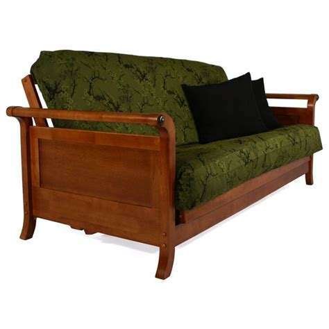 wall hugging futon lexington wall hugger futon frame dcg stores