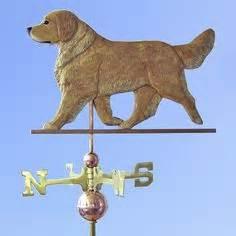 golden retriever weathervane weathervanes on