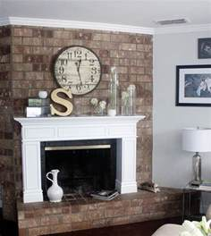 Building A Mantel On A Brick Fireplace by How To Build Brick Fireplace Surround Woodworking