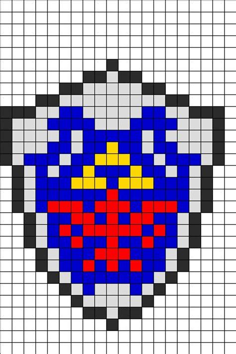 pattern generator minecraft zelda bead patterns and perler beads on pinterest