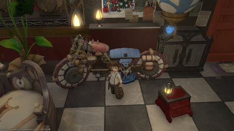 ffxiv housing items majere kibbles blog entry quot jp player uses housing items to build a bike quot final