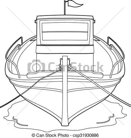 dessin bateau de peche dessin bateau peche bateau eps illustration vecteur
