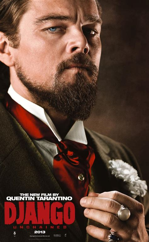 leonardo dicaprio movies five character posters for django unchained cinema vine