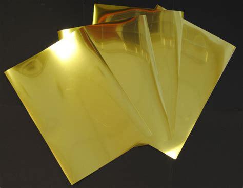 Gold Folie Papier by Gold Metallic Glossy Inkjet Printable Film Photo Paper 10
