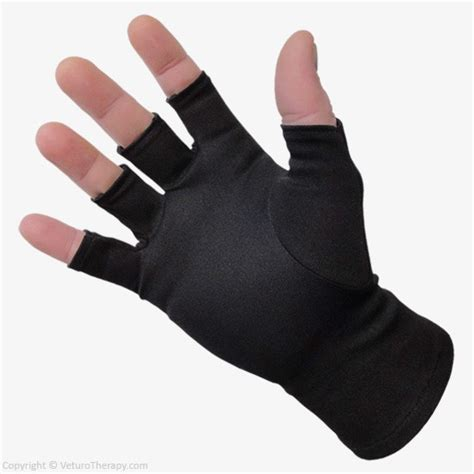 carpal tunnel ceramics infrared therapy gloves half finger relief