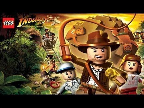 tutorial lego indiana jones ps2 lego indiana jones walkthrough complete game youtube