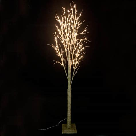 pre lit gold glitter paper twig tree 200cm with 120 warm