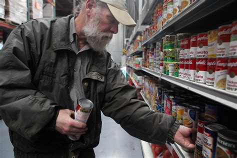 San Francisco Food Pantry by Food Bank Looks To Make Up Loss Of Federal Funds San