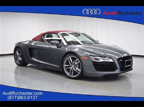 Pre Owned Audi R8 by Pre Owned 2015 Audi R8 4 2 Quattro Spyder Convertible In