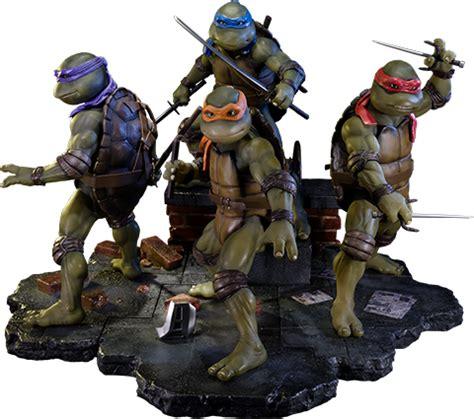 Set Mutant Turtles B 4 Karakter Berkualitas prime 1 studio mutant turtles mutant turtles set of 4