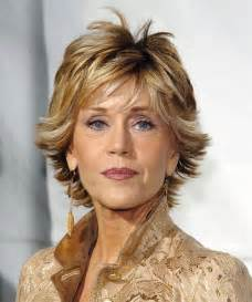 hairstyles for 50 for brown hair and highlights dazzling divas jane fonda