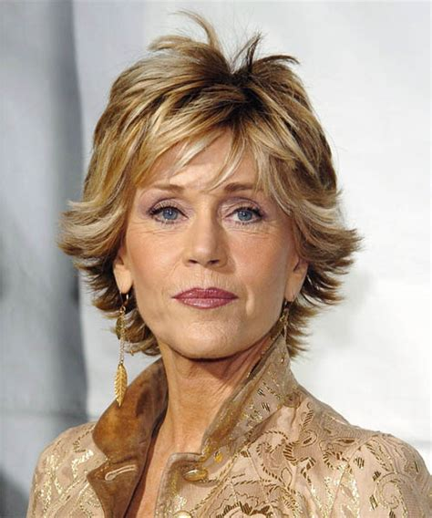 feathered hairstyles for mature woman dazzling divas jane fonda