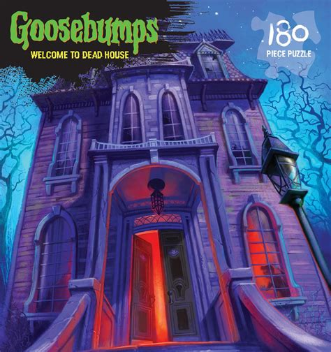 goosebumps welcome to dead house goosebumps puzzle welcome to the dead house outset