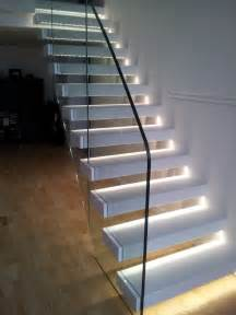 Lights For Stairs by Staircase With Led Lights Sparkle Words Social Blog