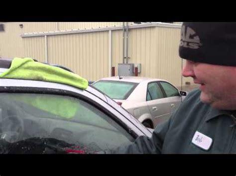 how to open your car door when it s frozen